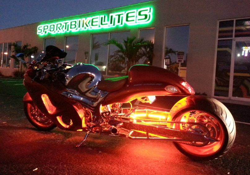 motorcycle sport bike led lighting kits and accessories for sport